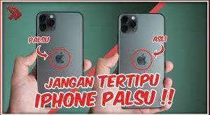 5 Cara Membedakan Ciri Iphone Asli Dan Palsu