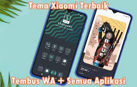 Tema Xiaomi Tembus Semua Aplikasi Dan WA
