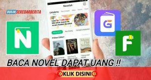 3 Aplikasi Baca Novel Penghasil Uang Terbaik dan Aplikasi Penghasil Uang Terbanyak